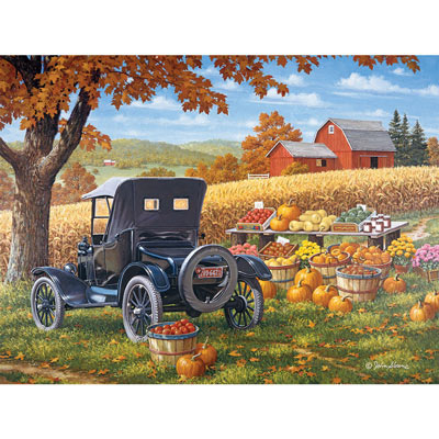 T Stop 300 Large Piece Jigsaw Puzzle