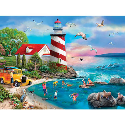 Tidepool Investigation 1000 Piece Jigsaw Puzzle