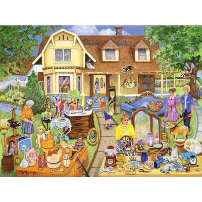 The Yard Sale 500 Piece Jigsaw Puzzle