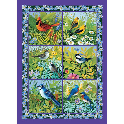 In The Aviary 500 Piece Jigsaw Puzzle