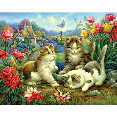 Sunny Day 100 Large Piece Jigsaw Puzzle