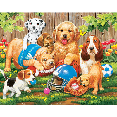 We're Ready Coach 200 Large Piece Jigsaw Puzzle