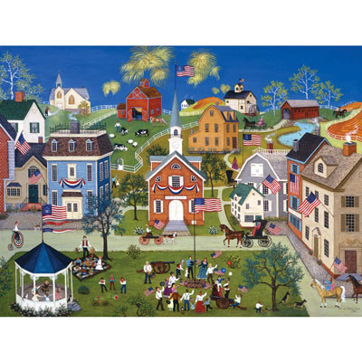 Let Freedom Ring II 500 Piece Jigsaw Puzzle