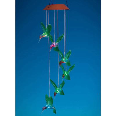 Colour Changing Hummingbird Mobile