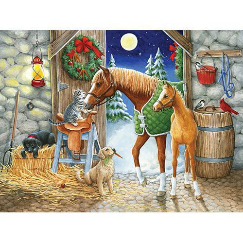Holiday Welcome 300 Large Piece Jigsaw Puzzle