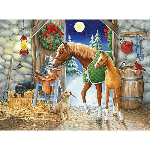 Holiday Welcome 1000 Piece Jigsaw Puzzle