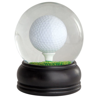 Golf Ball Puzzle Globe