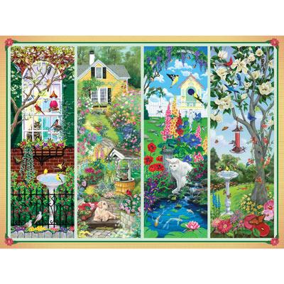 Garden Treasures 500 Piece Giant Jigsaw Puzzle