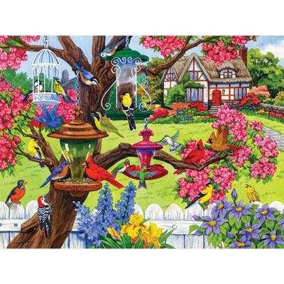 Bountiful Spring 300 Large Piece Jigsaw Puzzle