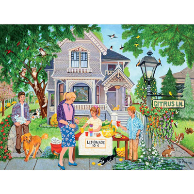 Lemonade Stand 300 Large Piece Jigsaw Puzzle