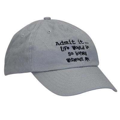 Admit It Cap
