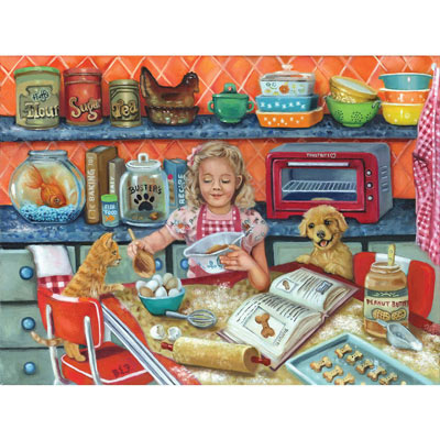 Buster's Biscuits 300 Large Piece Jigsaw Puzzle