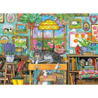 Spring Snooze 500 Piece Jigsaw Puzzle
