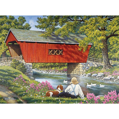 Reflections 300 Large Piece Jigsaw Puzzle