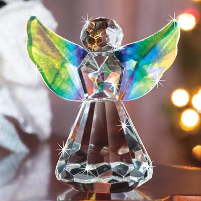 Crystal Guardian Angel Sun Catcher