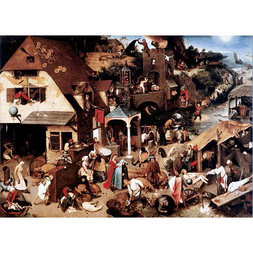 Find The Proverbs 500 Piece Jigsaw Puzzle