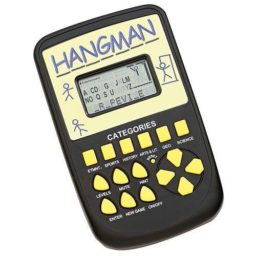 Hand-Held Hangman