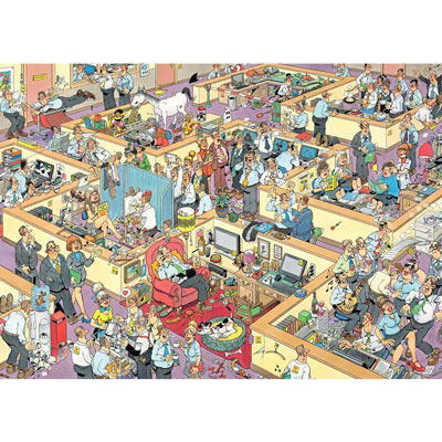 JVH The Office 1000 Piece Jigsaw Puzzle