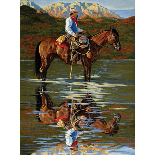 Reflection 500 Piece Jigsaw Puzzle