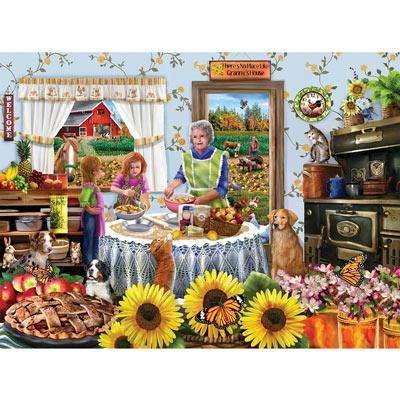 Granny Apple Pie 300 Large Piece Jigsaw Puzzle