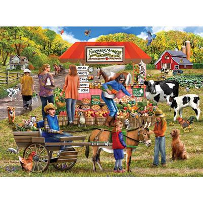 Farm Fresh 300 Large Piece Jigsaw Puzzle
