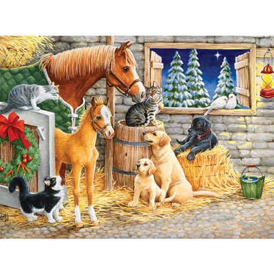 An Evening With Friends 1000 Piece Jigsaw Puzzle