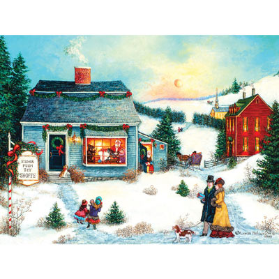 The Golden Morning 500 Piece Jigsaw Puzzle