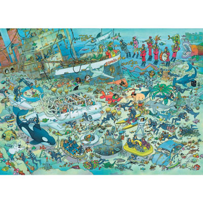 JVH Deep Sea Fun 2000 Piece Jigsaw Puzzle