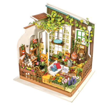 Miller's Flower Shop Model Kit
