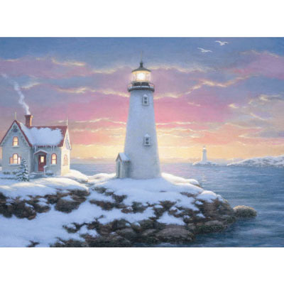 Harbor Lights 1000 Piece Jigsaw Puzzle