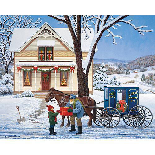 Special Delivery 500 Piece Jigsaw Puzzle