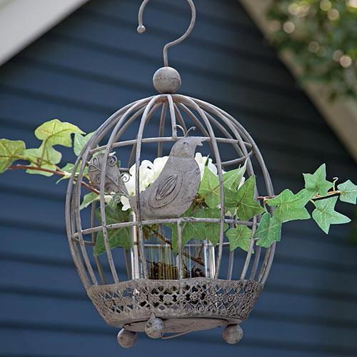 Bird Cage Planter
