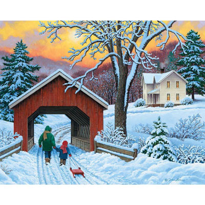 The Walk Home 500 Piece Jigsaw Puzzle