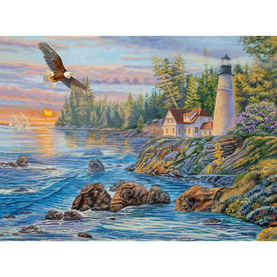 Peaceful Waters 300 Large Piece Jigsaw Puzzle