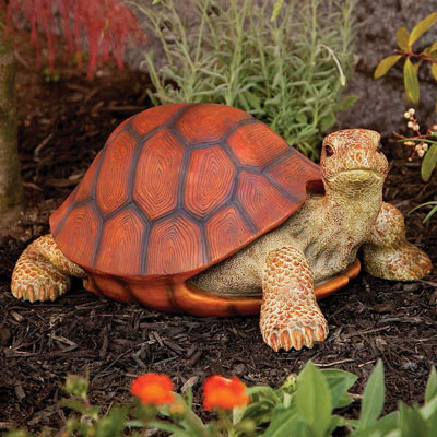 Small Sized Tortoise Sculpture