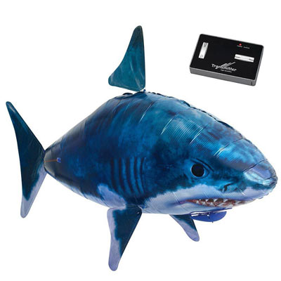 Rc vehicles giant remote control flying shark for Remote control flying fish