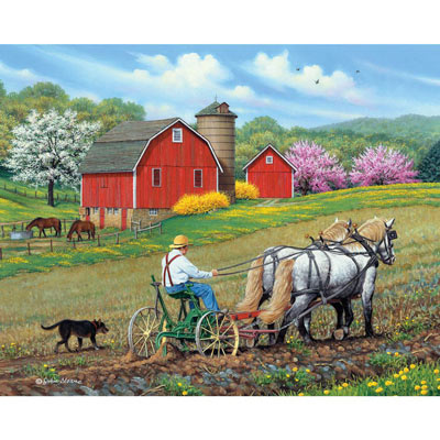 Working Together 500 Piece Jigsaw Puzzle