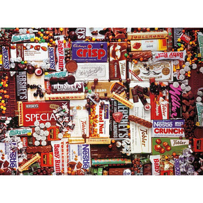 Chocolate Dreams 500 Piece Jigsaw Puzzle