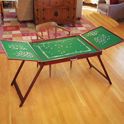 Fold-And-Go Wooden Jigsaw Table<sup>®</sup>