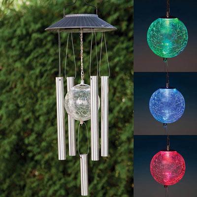 Solar LED Wind Chime