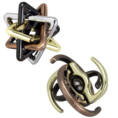 Set of 2: Unlink And Galaxy Metal Puzzle