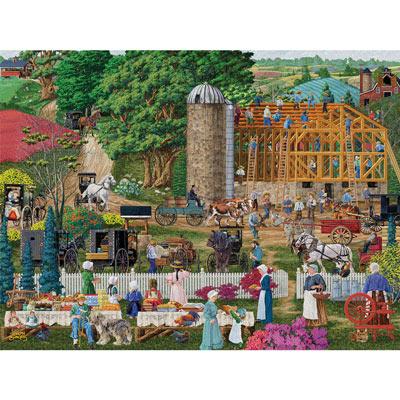 Friendly Neighbors 300 Large Piece Jigsaw Puzzle