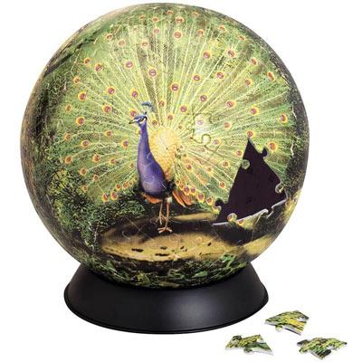 Proud Peacock 240 Plastic Piece Sphere Puzzle