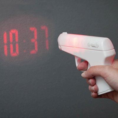 Secret Agent Projection Alarm Clock