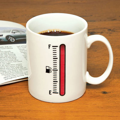 Fuel Up Colour Changing Mug