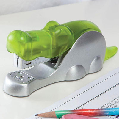 Whimisical Crocodile Stapler