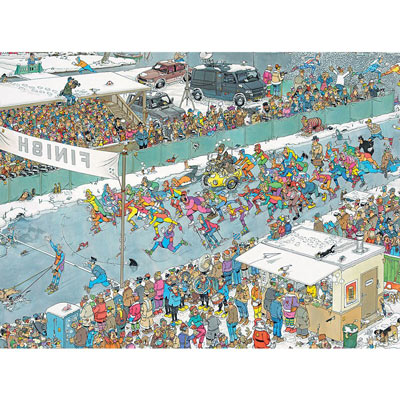 Eleven City Ice Tour 1000 Piece Jigsaw Puzzle