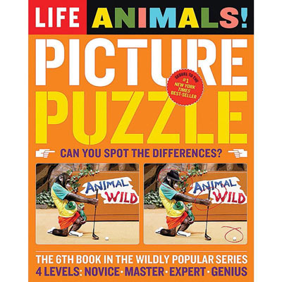 LIFE Animal Picture Puzzle Book