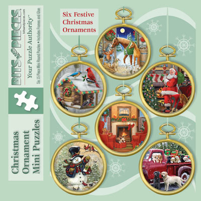 Mini Ornament Puzzles With Frames
