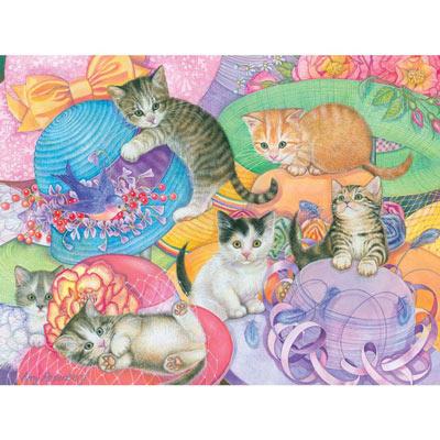 Hat Shop Kittens 500 Piece Jigsaw Puzzle